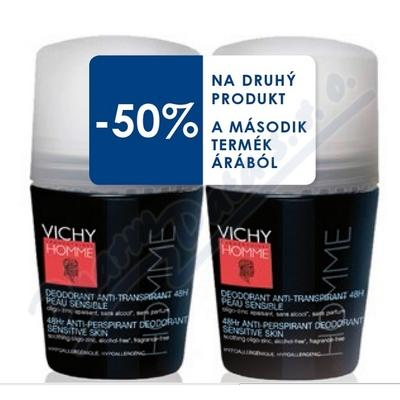 VICHY HOMME Deo Roll-on DUO 2x50ml