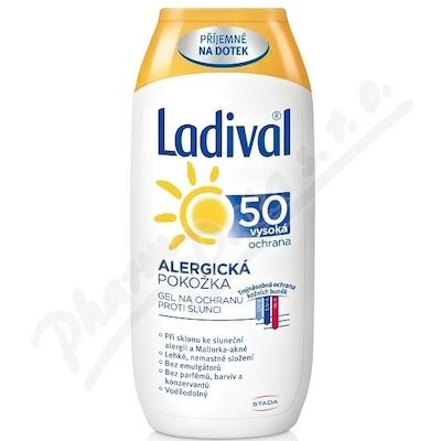 LADIVAL OF50+ GEL ALERGICKA KUZE