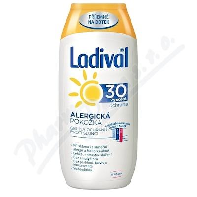 LADIVAL OF30 GEL ALERGICKA KUZE 200 ML