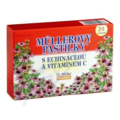 MULLEROVY PASTILKY S ECHINACEOU 24KS