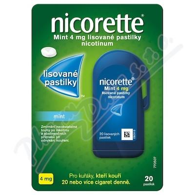 NICORETTE MINT 4 MG