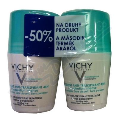 VICHY DEO ROLL-ON DUO 48H INTENSE 2X50ML ML M6333100